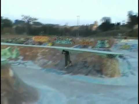 Roller Agressif: street skatepark & freestyle skiing: 1080°, fakie misty & backflip François CAFFA