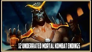 12 Underrated Mortal Kombat Endings