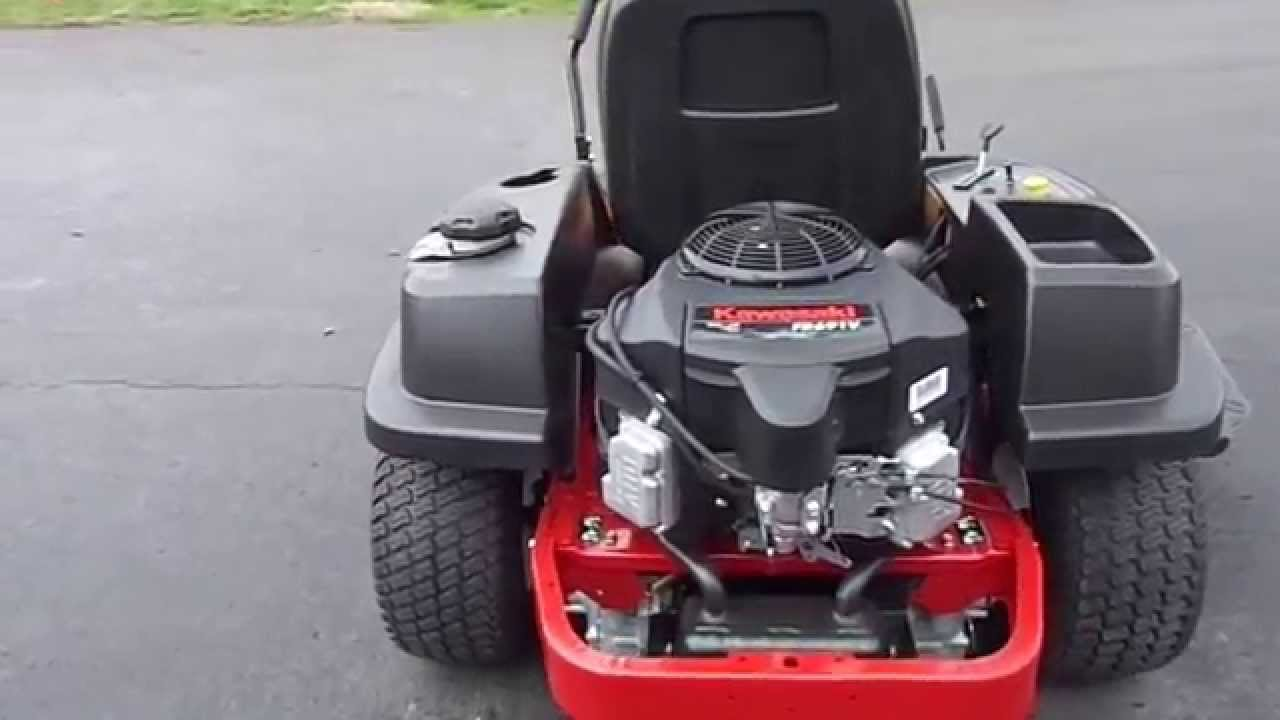 small resolution of 50 toro timecutter ss5000 23 hp kawasaki engine zero turn lawn mower youtube
