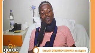 Debordo Leekunfa (Artiste): '' Après cet accident, je confirme que Dieu est merveilleux''