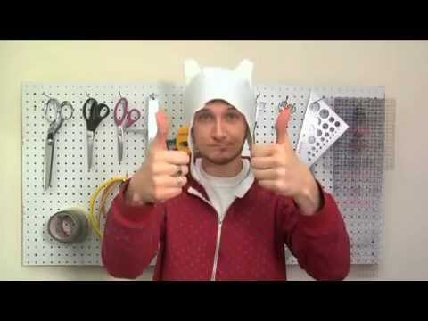 DIY Finn Hat from Adventure Time! - YouTube 6a51cacf08a
