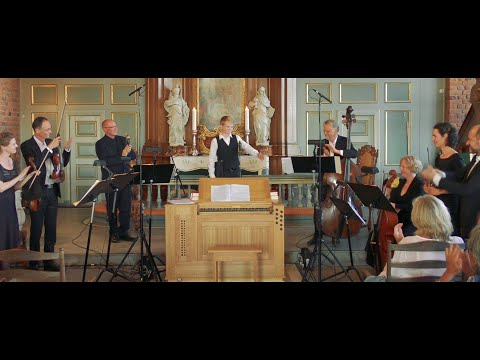 Alleluja J.S.Bach  boy soprano Aksel Rykkvin 13y, Mark Bennett & Lars N. Birkeland