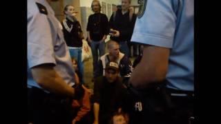 Polizei wird nach 73. Montagsdemo gejagt und eingekesselt