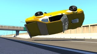 BeamNG.Drive High Speed Driving Fails&Crashes #5