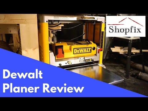 Dewalt DW734 Thickness Planer Review