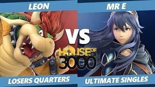 Smash Ultimate Tournament - Leon (Bowser) Vs. Mr E (Lucina) SSBU Xeno 167 Losers Quarters