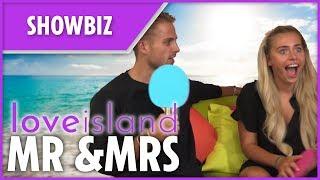 Love Island 2018's Charlie Brake and Ellie Brown play Mr & Mrs