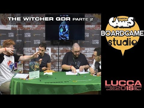 [Lucca Comics & Games] Boardgame studio: The Witcher GDR parte 2
