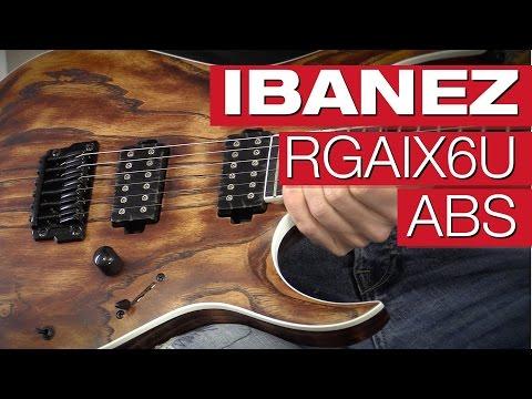 Ibanez RGAIX6U ABS E-Gitarren-Review von session