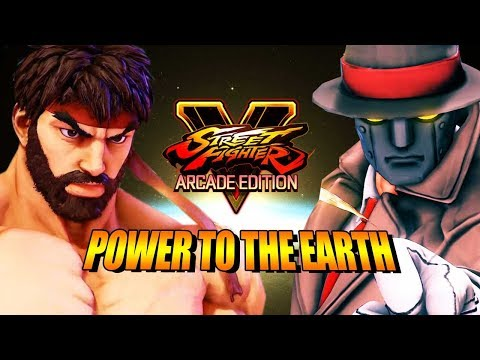 Power To the Earth! MAX & STEVE VS. THE WORLD - Street Fighter 5 Online Matches