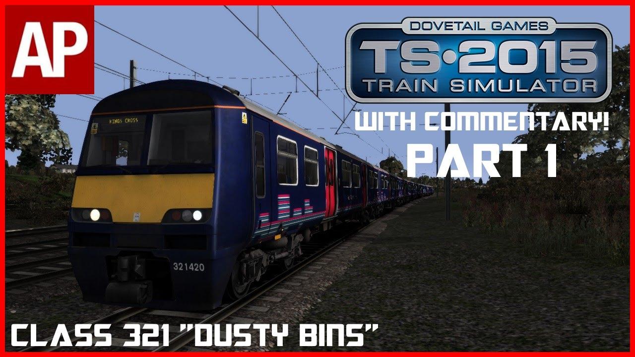 Lets Play Train Simulator 2015 Welwyn Garden City To Kings Cross Class 321 Part 1 Youtube