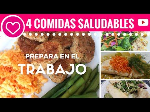 4 Comidas Saludables Rápidas para el TRABAJO - Las Recetas de Laura ? Recetas de Comida Saludable