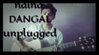 Download Hindi Video Songs - NAINA | DANGAL | ARIJIT SINGH | AAMIR KHAN | GUITAR cover by aman puranik
