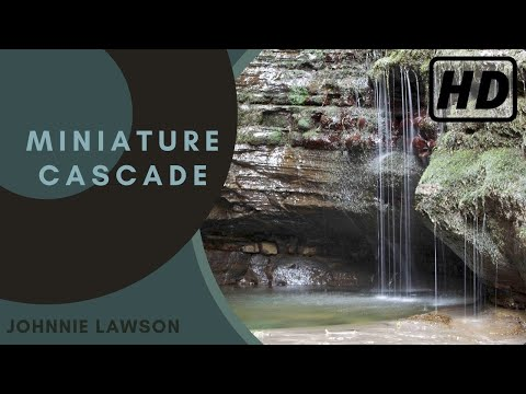 Relaxing Tiny Forest Waterfall Nature Sounds-Birds Singing Mindfulness Meditation-Water Sound