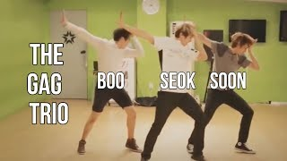 booseoksoon being the only comic trio that you need in your life