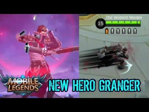 New Hero Granger First Gameplay (Skills Highlights) - Mobile Legends: Bang Bang thumbnail
