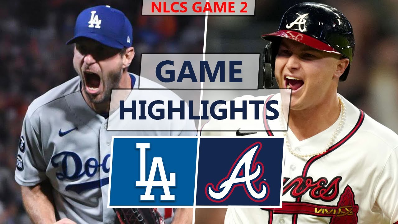 Los Angeles Dodgers vs. Atlanta Braves Highlights | NLCS Game 2 (2021)