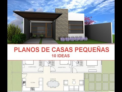 10 ideas de planos de casas para construir en terreno for Planos e ideas para construir casa