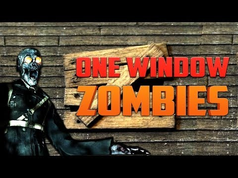 ONE WINDOW ZOMBIES ★ Call of Duty Zombies