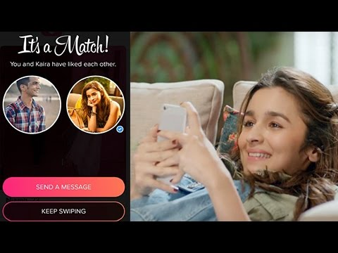 Alia Bhatt Plays The Tinder Game Live | Swipe Right To Zindagi | Dear Zindagi