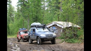 North Ural: the Dyatlov pass, the Manpupuner plateau. Part 2. Hut in the cedar forest.