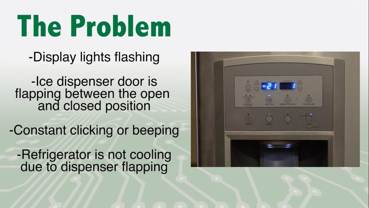 WPW10310240 Refrigerator Control Board Repair on