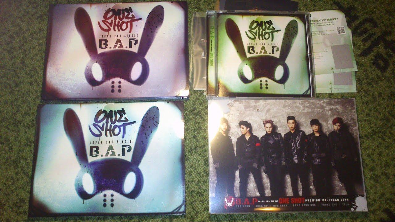 B.A.P YoungJae One Shot Official PhotoCard 2nd Mini Album BAP Photo Card