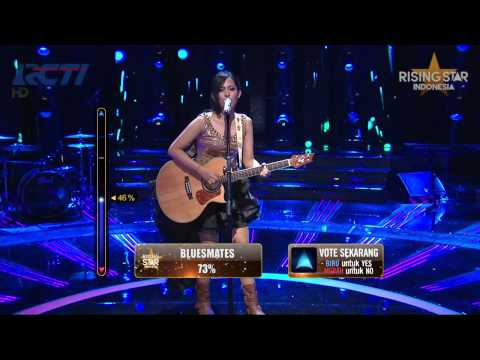 Ghaitsa Kenang Holy Grail Jay Z ft Justin Timberlake  Rising Star Indonesia Best Of 5 Eps 23