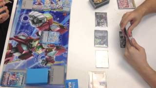 Cardfight Vanguard GamePlay #3 Bermuda Triangle Coral vs OTT Battle Sisters