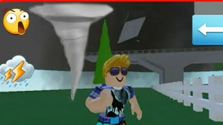 Biggest Tornado Ever Recorder Roblox!
