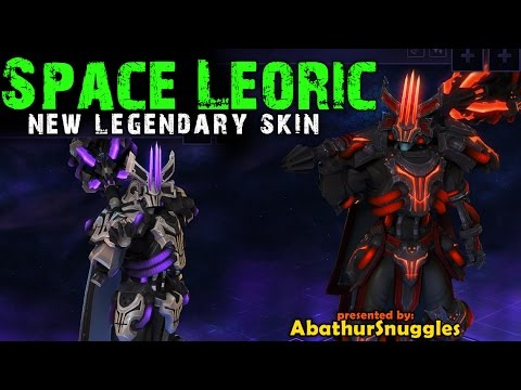 Space lord leoric new skin heroes of the storm youtube - Heroes of the storm space lord leoric ...