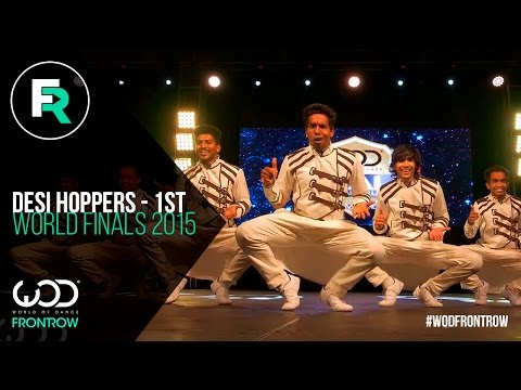 Desi Hoppers 1st Place Finals  FRONTROW  World of Dance Finals   WODFINALS15