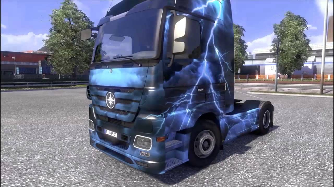 Euro truck simulator 2 - force of nature paint jobs pack crackers