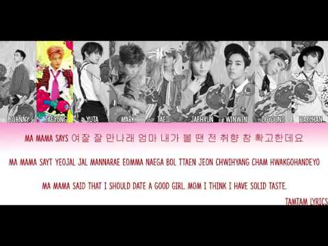 Whiplash - NCT 127 Lyrics [Han,Rom,Eng] {Color/Colour Coded}