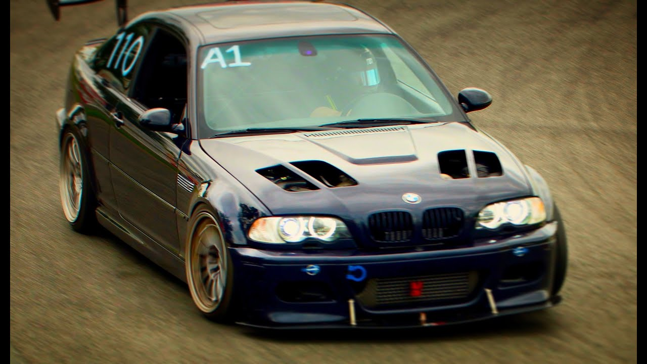 Bmw E46 M3 >> On Track: Supercharged BMW E46 M3 vs Porsche 911 GT3 RS - YouTube