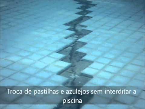 Reparo na trinca dentro da piscina youtube for Piscina 6 x 3