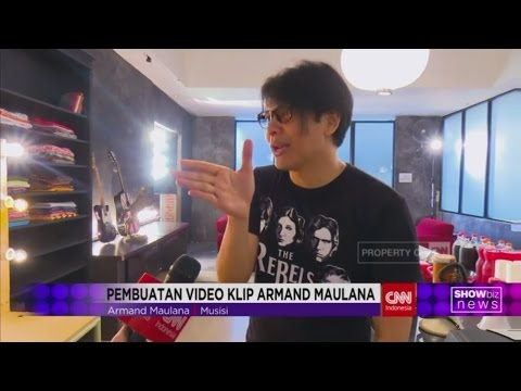 Armand Maulana Garap Video Klip Baru