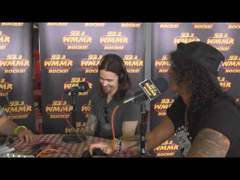 Slash & Myles Backstage Interview at MMRBQ '12