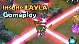 CRAZY LAYLA GAMEPLAY! - ULTIMATE SNIPER! - Mobile Legends