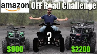 CHEAPEST and MOST EXPEΝSIVE Amazon ATV Challenge