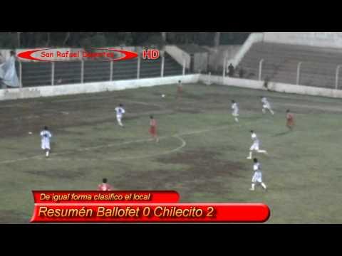 Resumen Ballofet 0 Chilecito 2 en HD