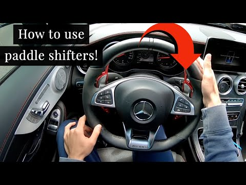 How to use Paddle Shifters! SIMPLE and EASY!