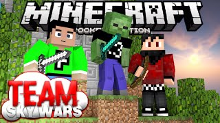 TEAM SKYWARS in MCPE! - Server Minigame for 0.14.0 - Minecraft PE (Pocket Edition)