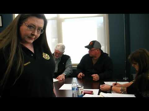 Alfalfa County Commissioners Meeting 01-28-2019
