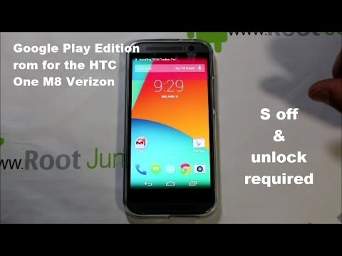 How To Turn Your Verizon Htc One M8 Into A Google Play