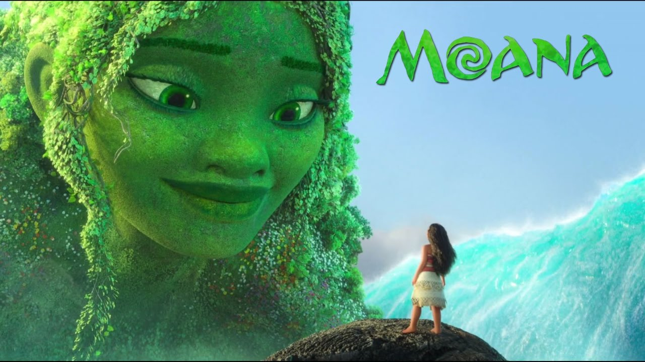moana te fiti restored soundtrack only with movie scene