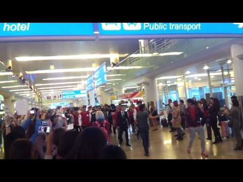 140913 Block B (블락비) @ Sheremetyevo International Airport, Russia