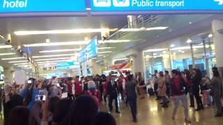 140913 Block B (블락비) @ Sheremetyevo International Airport, Russia