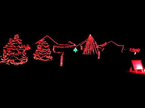 Rief Christmas Light Show 2012 - There Is No Place Like Nebraska