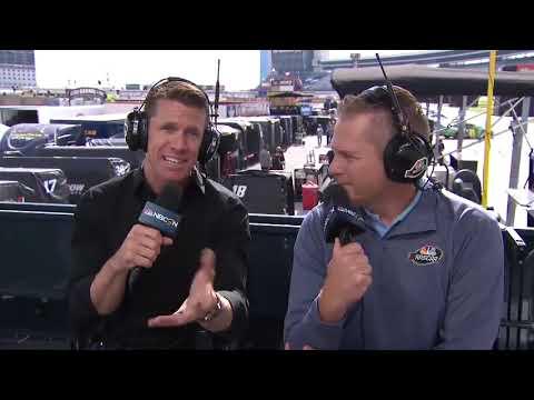 Edwards: 'I'm a race-car driver, I never say no'